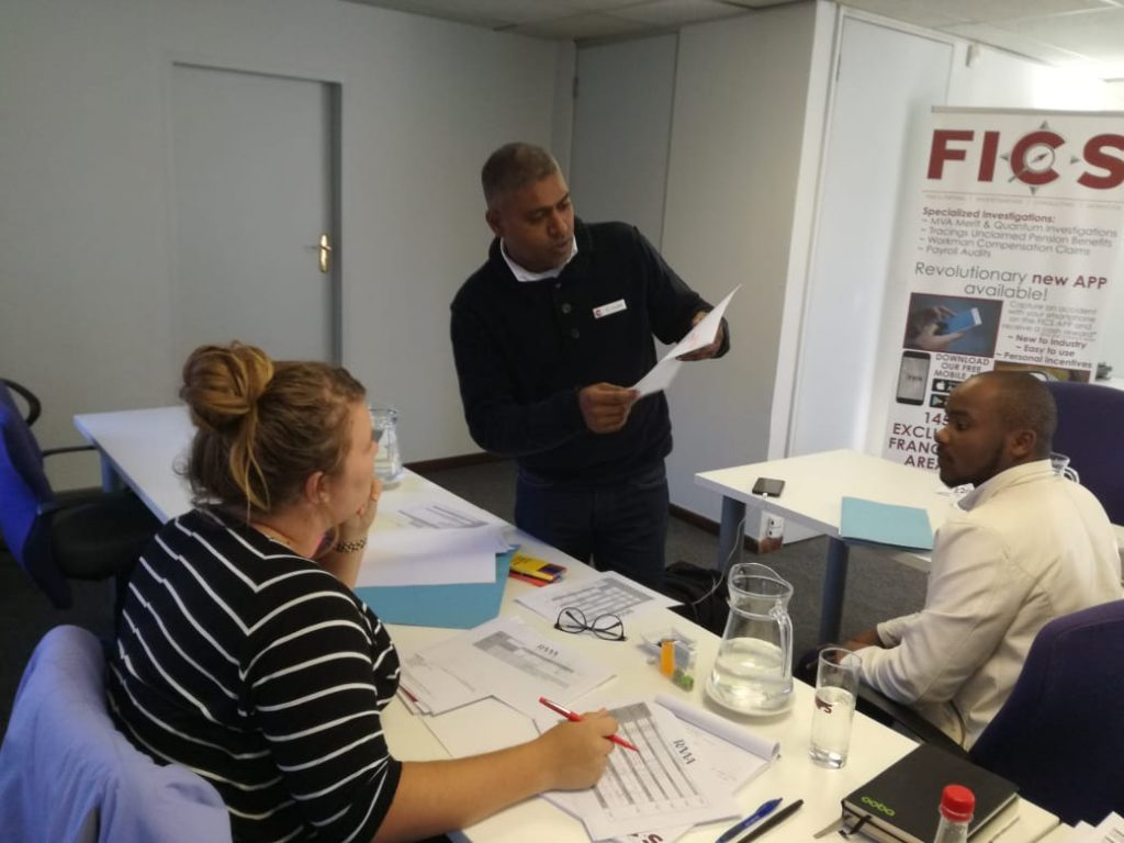 FICS Franchisee Training Session at Head Office